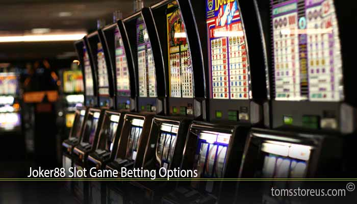 Joker88 Slot Game Betting Options
